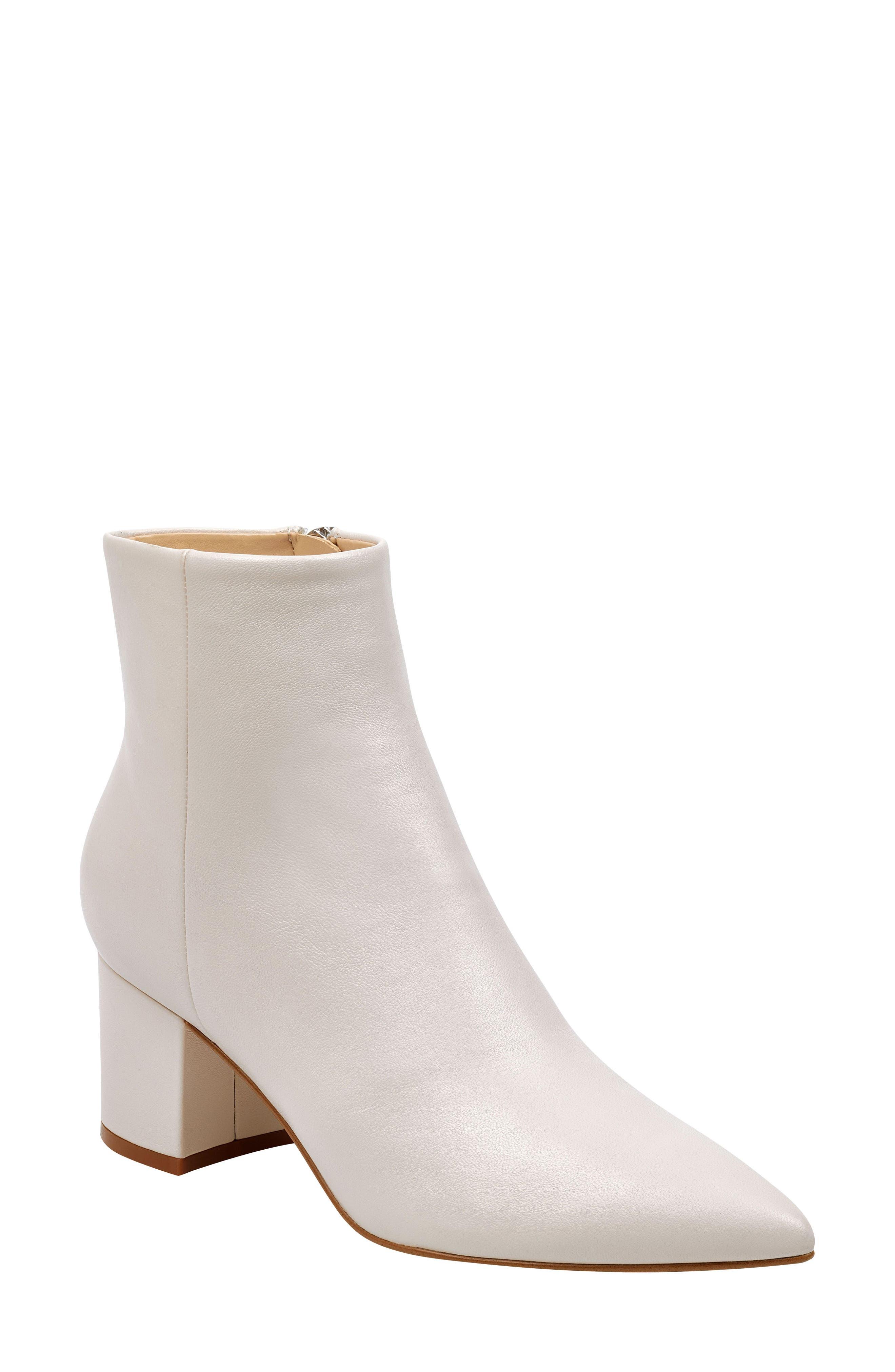 Marc Fisher Ltd Jarli Bootie- White
