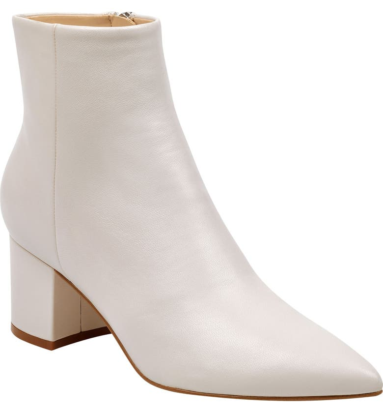 MARC FISHER LTD Jarli Bootie, Main, color, IVORY LEATHER