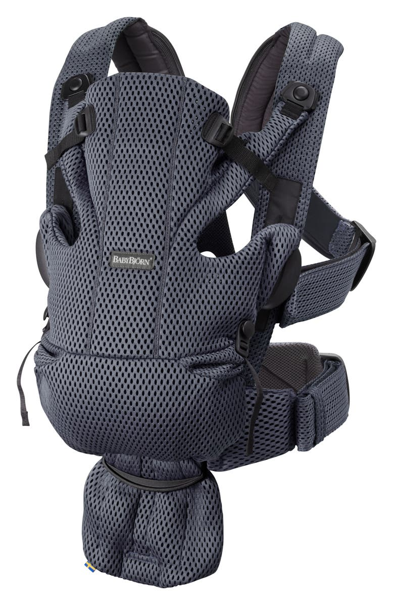 BABYBJÖRN Baby Carrier Free, Main, color, ANTHRACITE