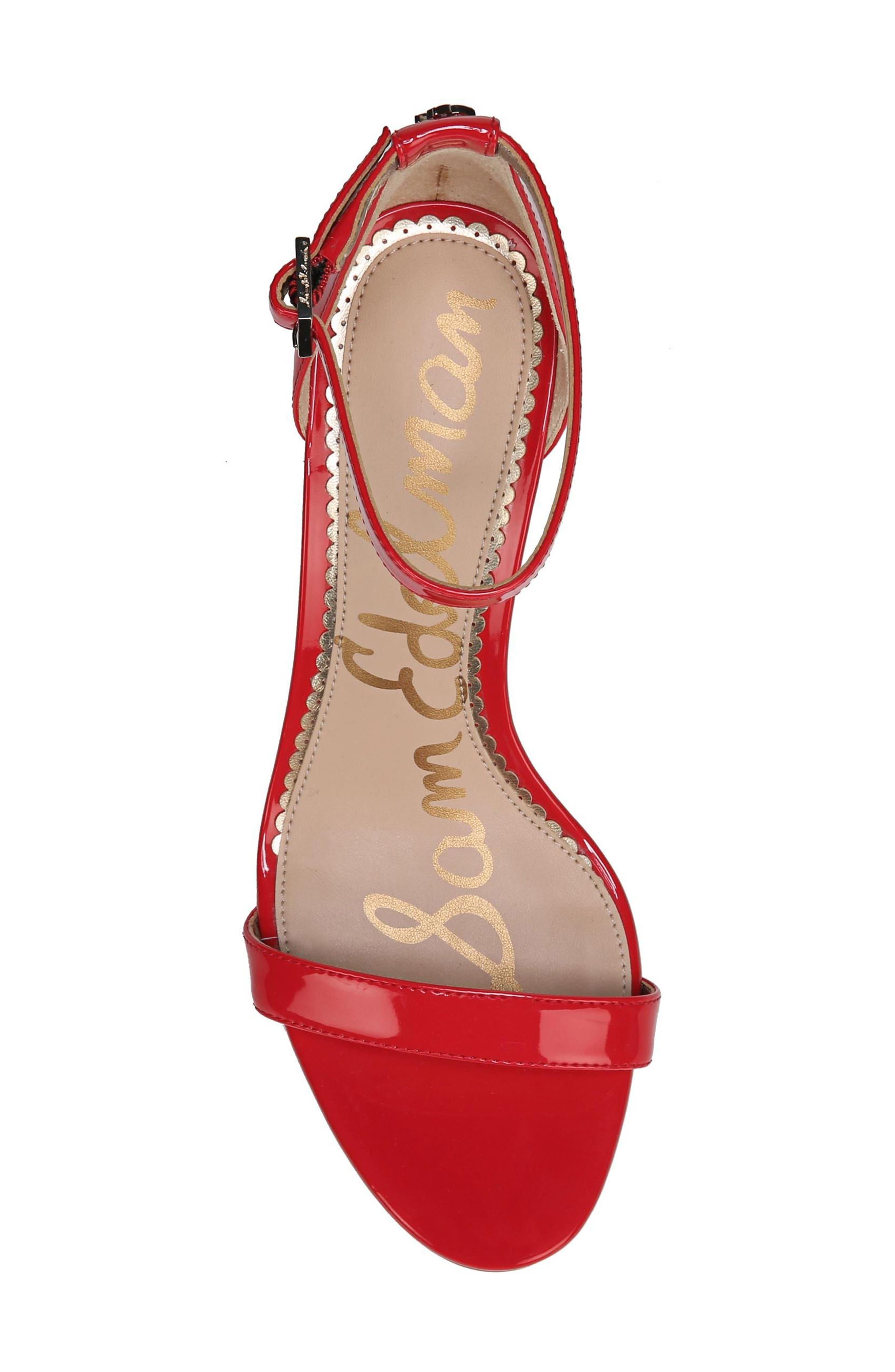 ,                             'Patti' Ankle Strap Sandal,                             Alternate thumbnail 118, color,                             606