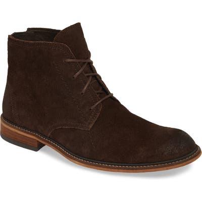 Fly London Hobi Plain Toe Chukka Boot, Brown
