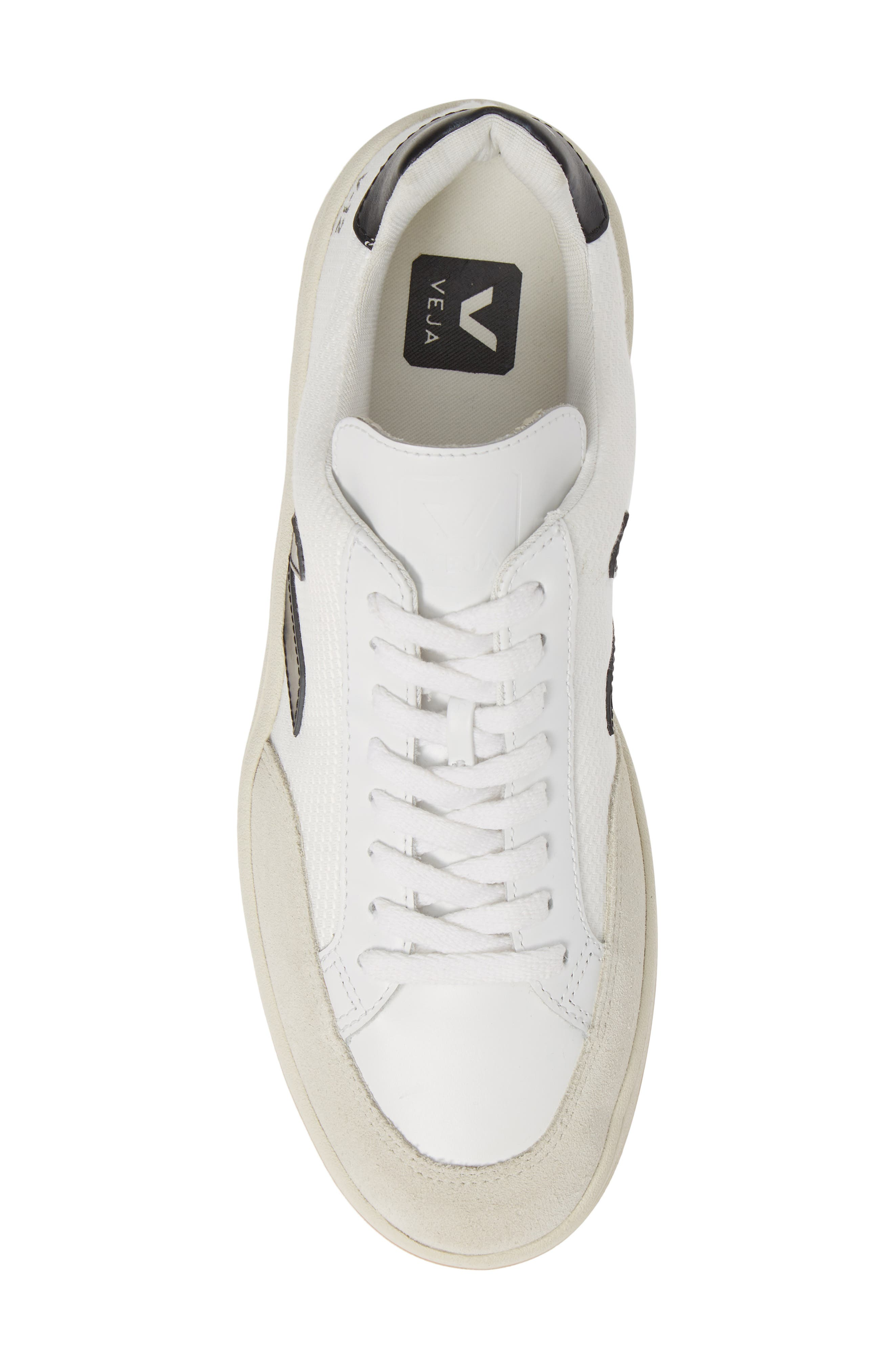 ,                             V-12 Sneaker,                             Alternate thumbnail 5, color,                             WHITE BLACK