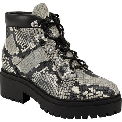 Marc Fisher Ltd Nula Lace-Up Boot- Grey