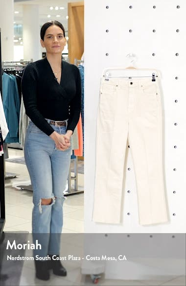 Benny Crop Flare Jeans, sales video thumbnail