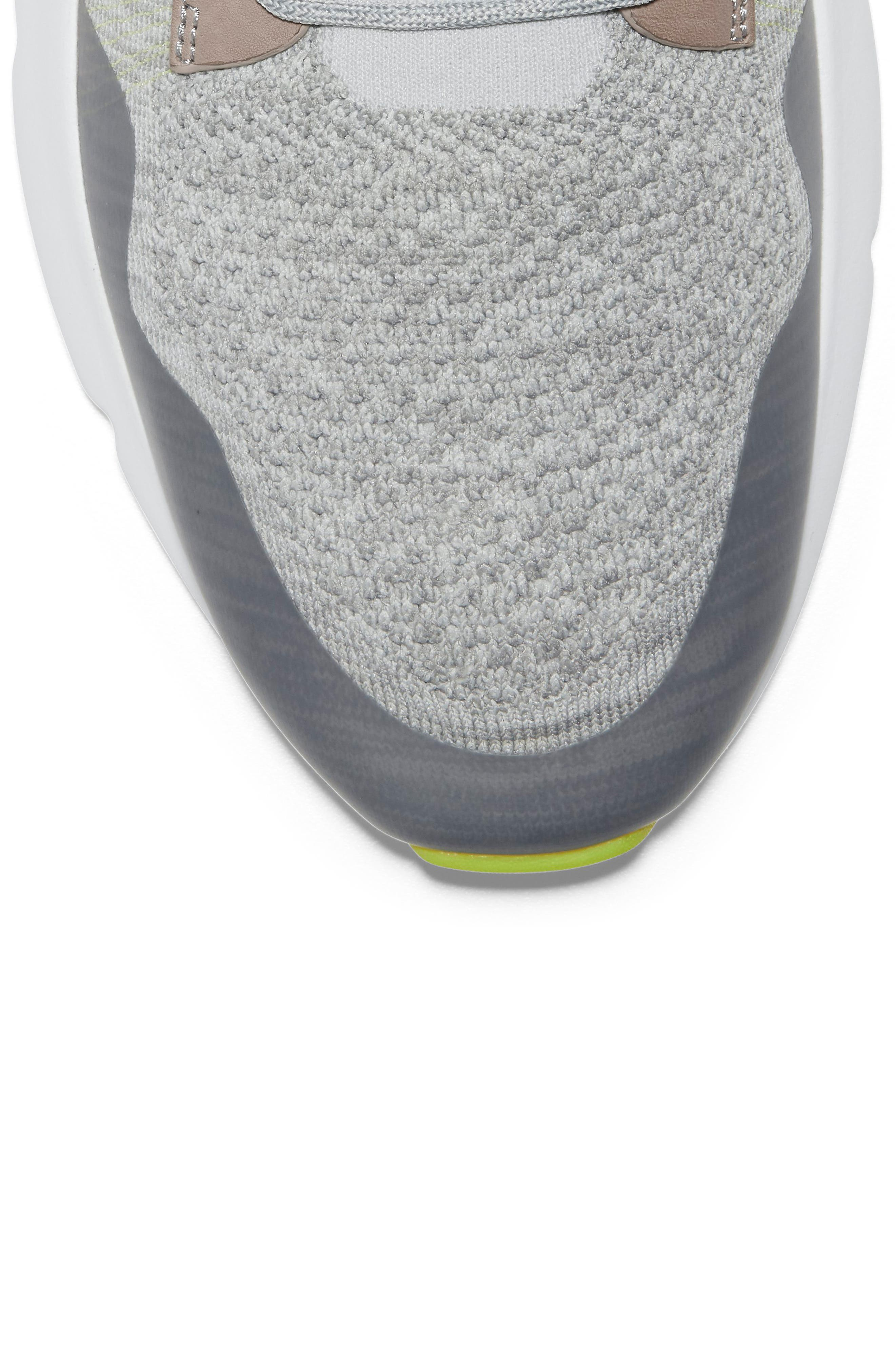 ,                             ZeroGrand All-Day Trainer Sneaker,                             Alternate thumbnail 7, color,                             BLACK/ IVORY KNIT
