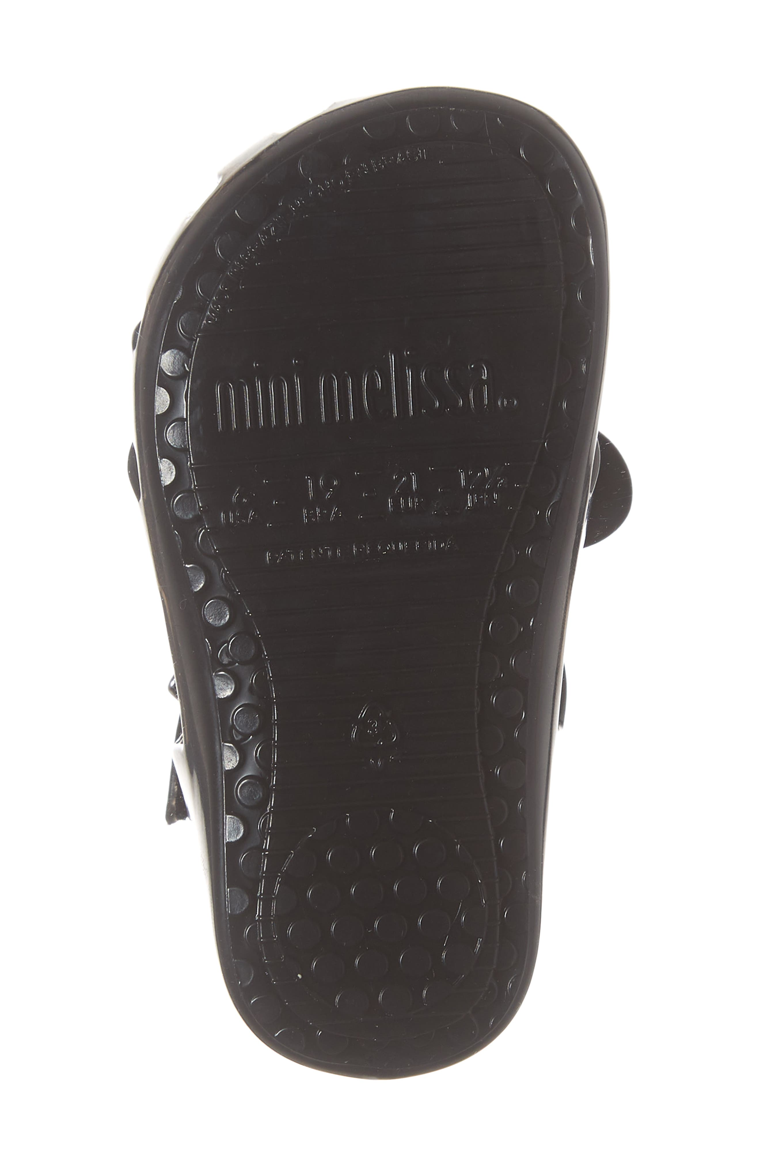 ,                             Aranha + Mickey Fisherman Sandal,                             Alternate thumbnail 6, color,                             BLACK