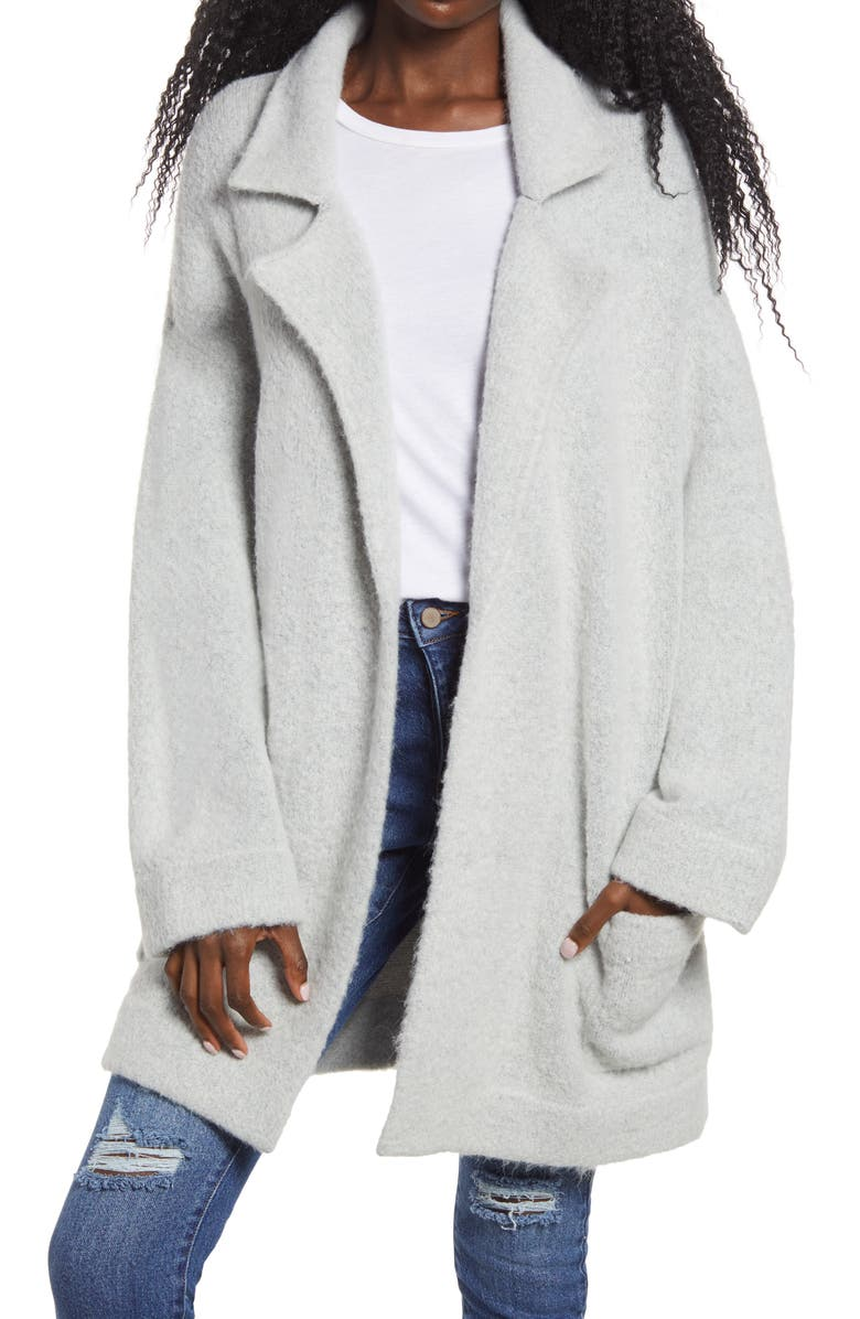 THREAD & SUPPLY Cardigan Coat, Main, color, 020