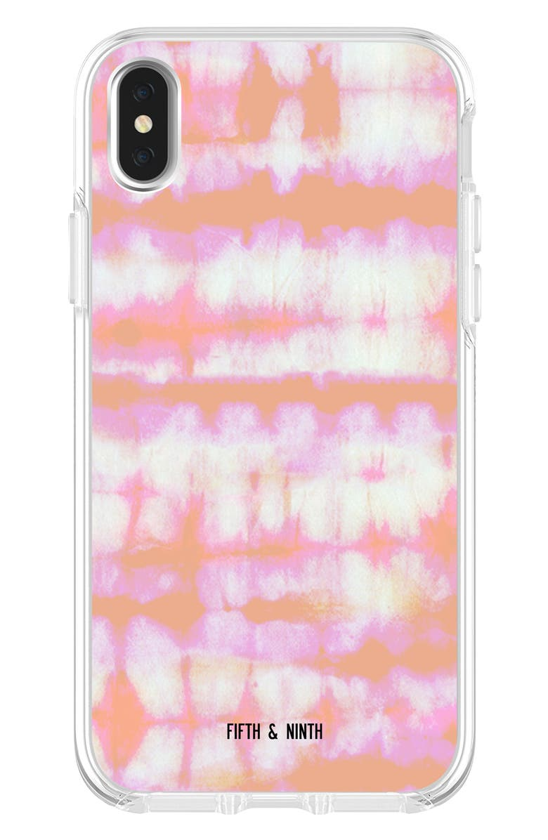 FIFTH & NINTH Tie Dye iPhone X/Xs, Xs Max & XR Case, Main, color, PINK