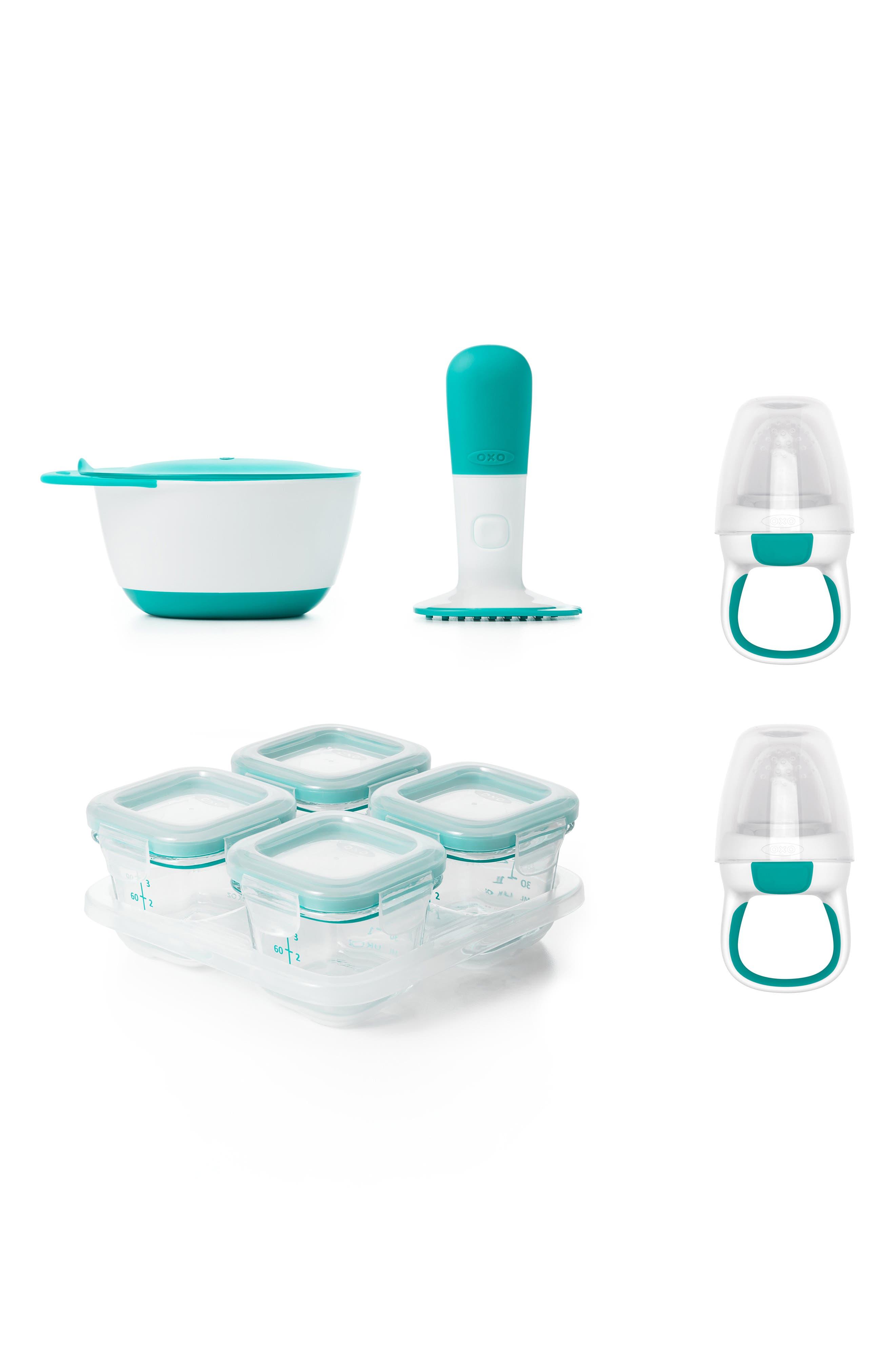 Infant Oxo Tot Feeding Prep Set Size One Size  Bluegreen