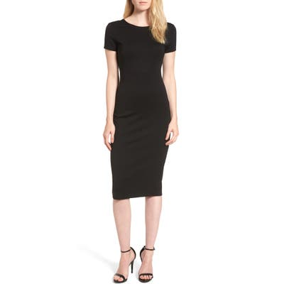 Sentimental Ny Ponte Sheath Dress, Black