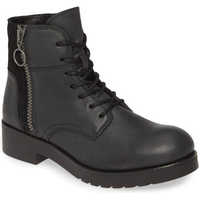 Fly London Buna Water Resistant Bootie - Black
