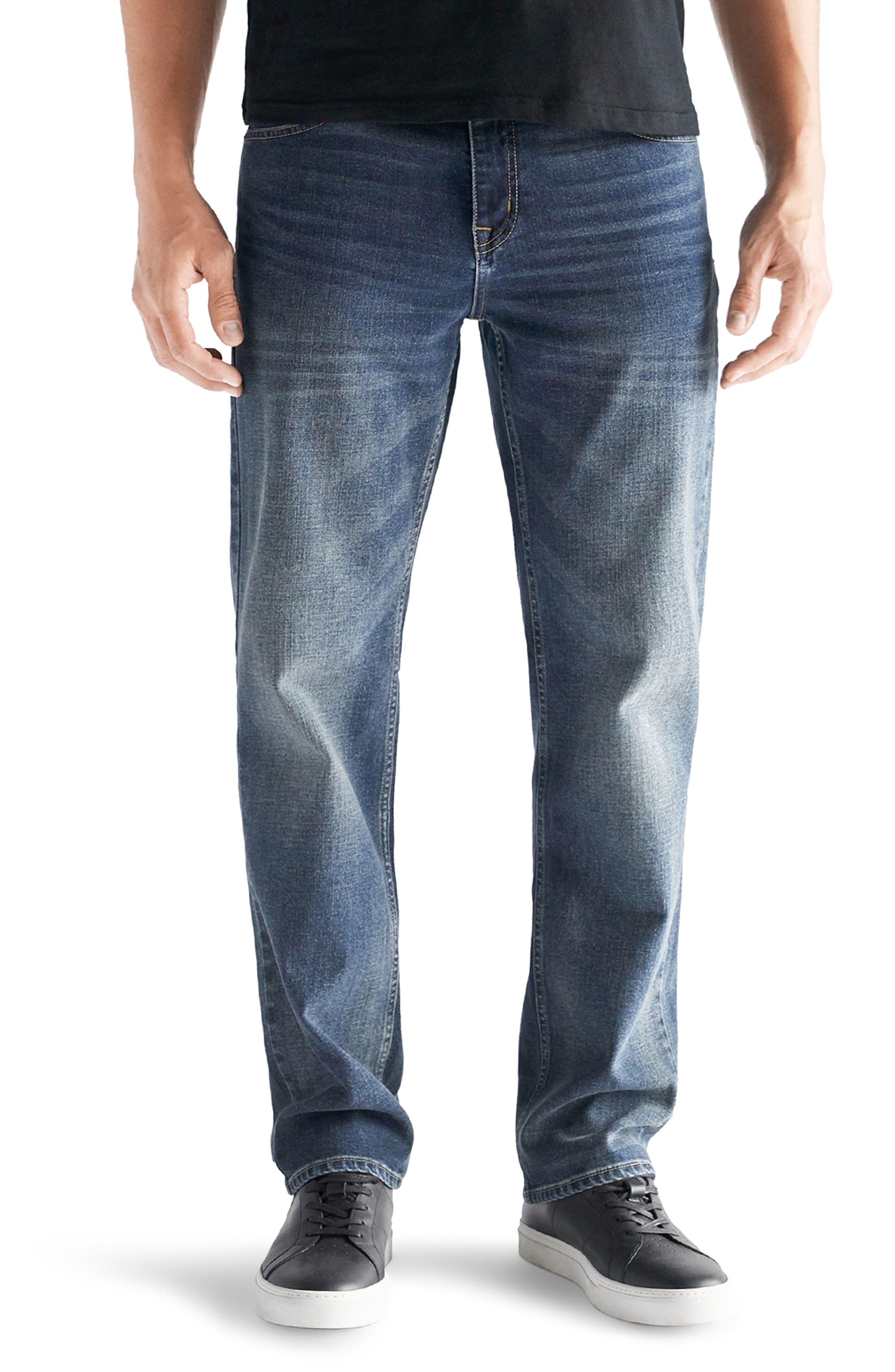 Straight Leg Performance Stretch Jeans