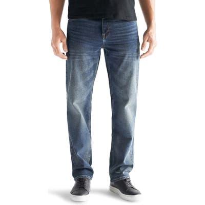 Devil-Dog Dungarees Straight Leg Performance Stretch Jeans, Blue