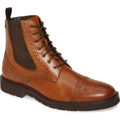 J & m 1850 Kinley Cap Toe Boot, Brown