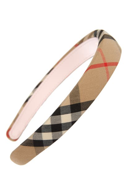 Burberry Ornaments VINTAGE CHECK HEADBAND