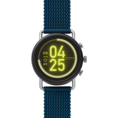 Skagen Falster 3 Mesh Silicone Strap Smart Watch, 42mm