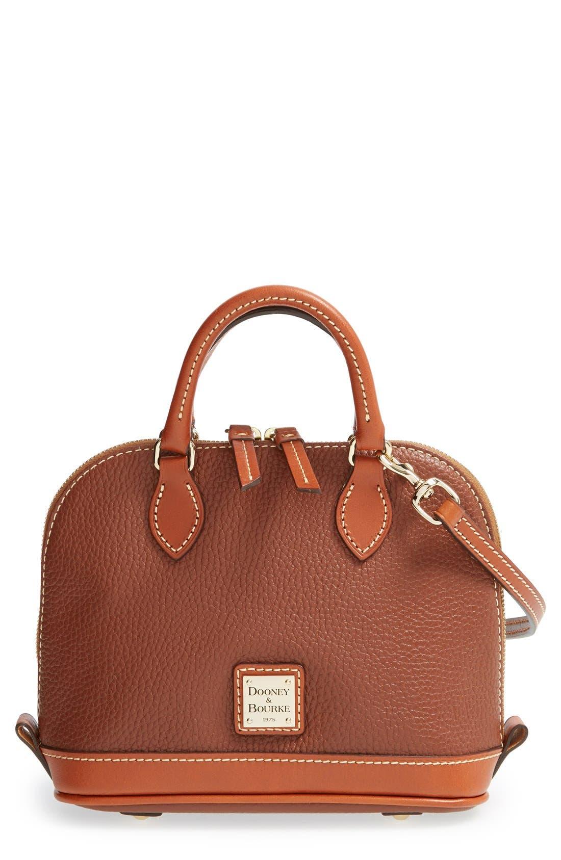 ,                             'Bitsy' Leather Crossbody Bag,                             Main thumbnail 7, color,                             205