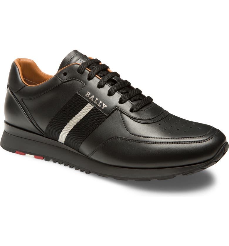 BALLY Aston Sneaker, Main, color, BLACK