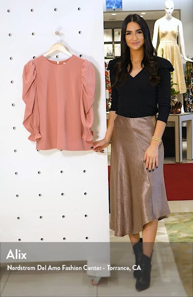 Puff Sleeve Top, sales video thumbnail