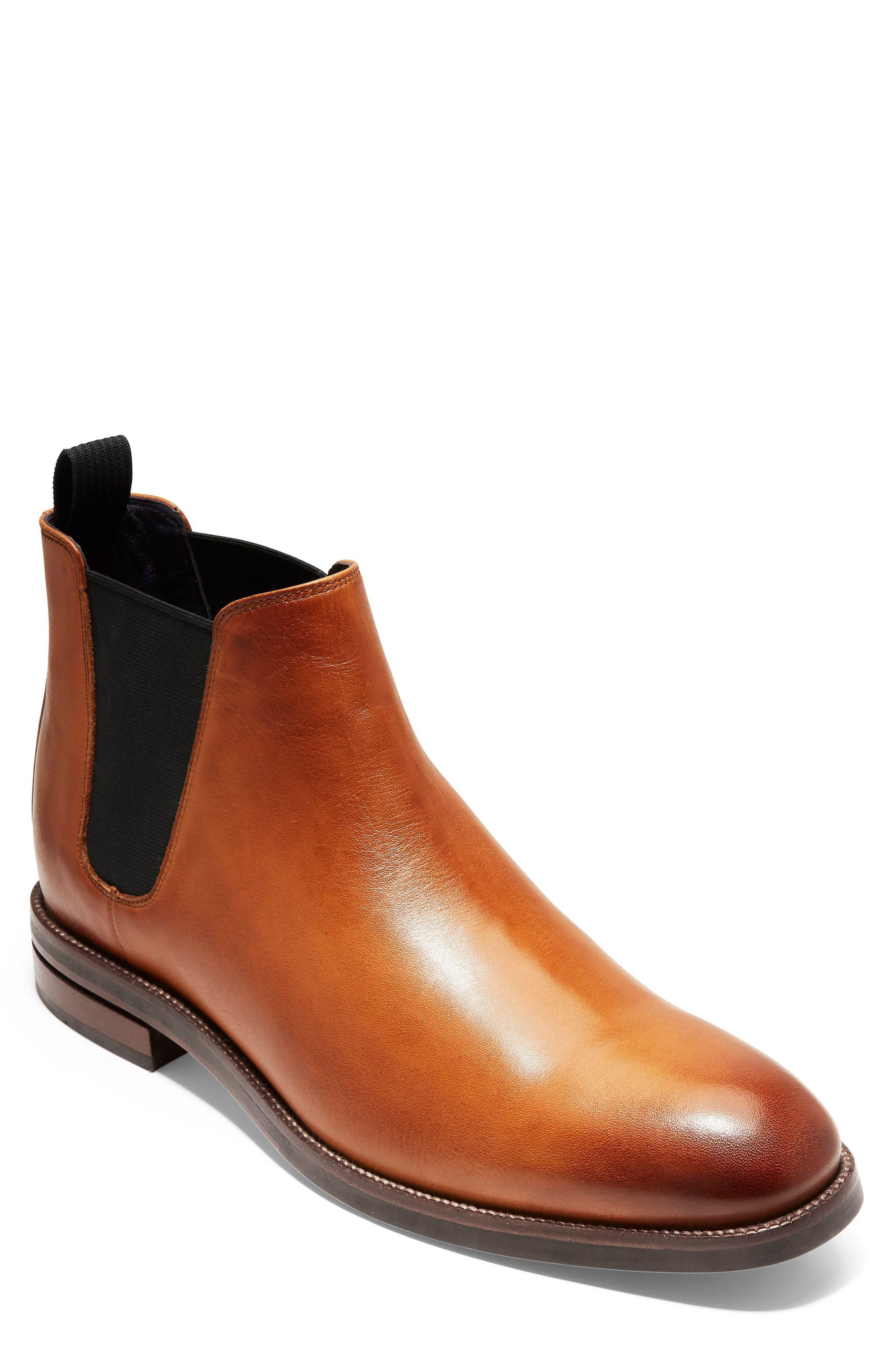 Cole Haan Wakefield Grand Chelsea Boot- Brown