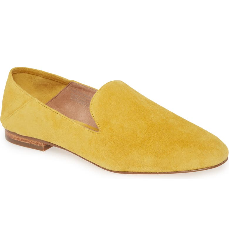 HALOGEN<SUP>®</SUP> Halogen Sabrina Collapsible Back Genuine Calf Hair Flat, Main, color, 701