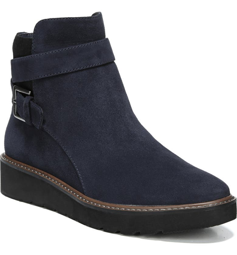 NATURALIZER Aster Bootie, Main, color, INKY NAVY SUEDE