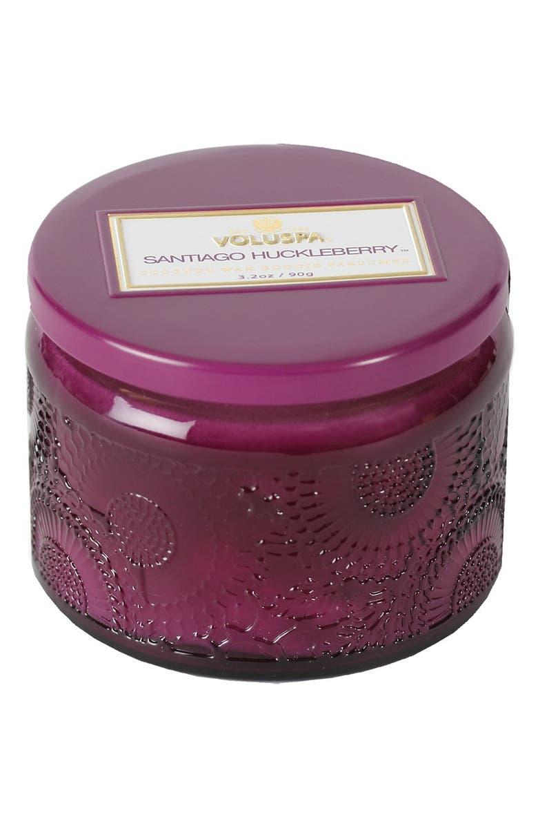 VOLUSPA 'Japonica - Santiago Huckleberry' Petite Colored Jar Candle, Main, color, 000