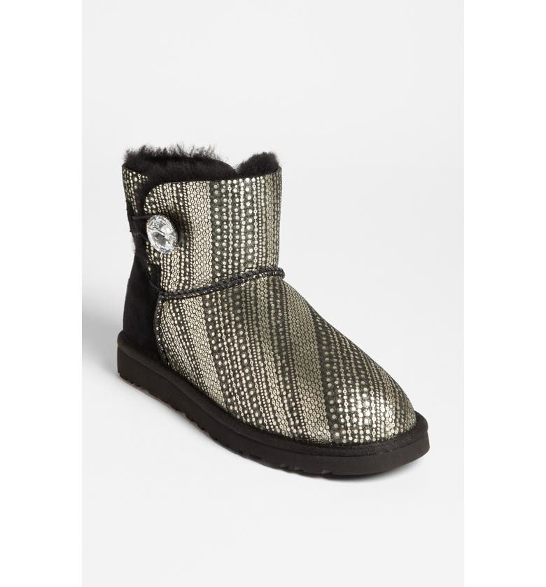 ba3c11cd8ea Australia 'Mini Bailey Swarovski Crystal Button Bling' Boot