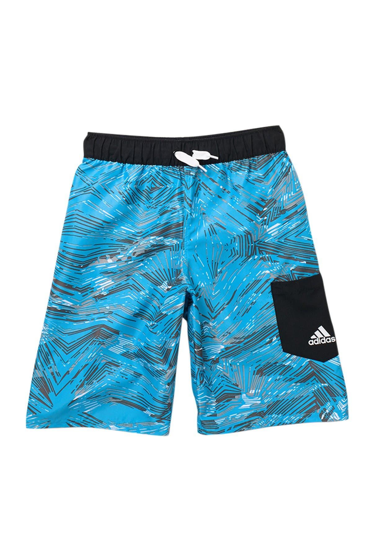 Image of ADIDAS SWIMWEAR Zigzag Camo Shorts