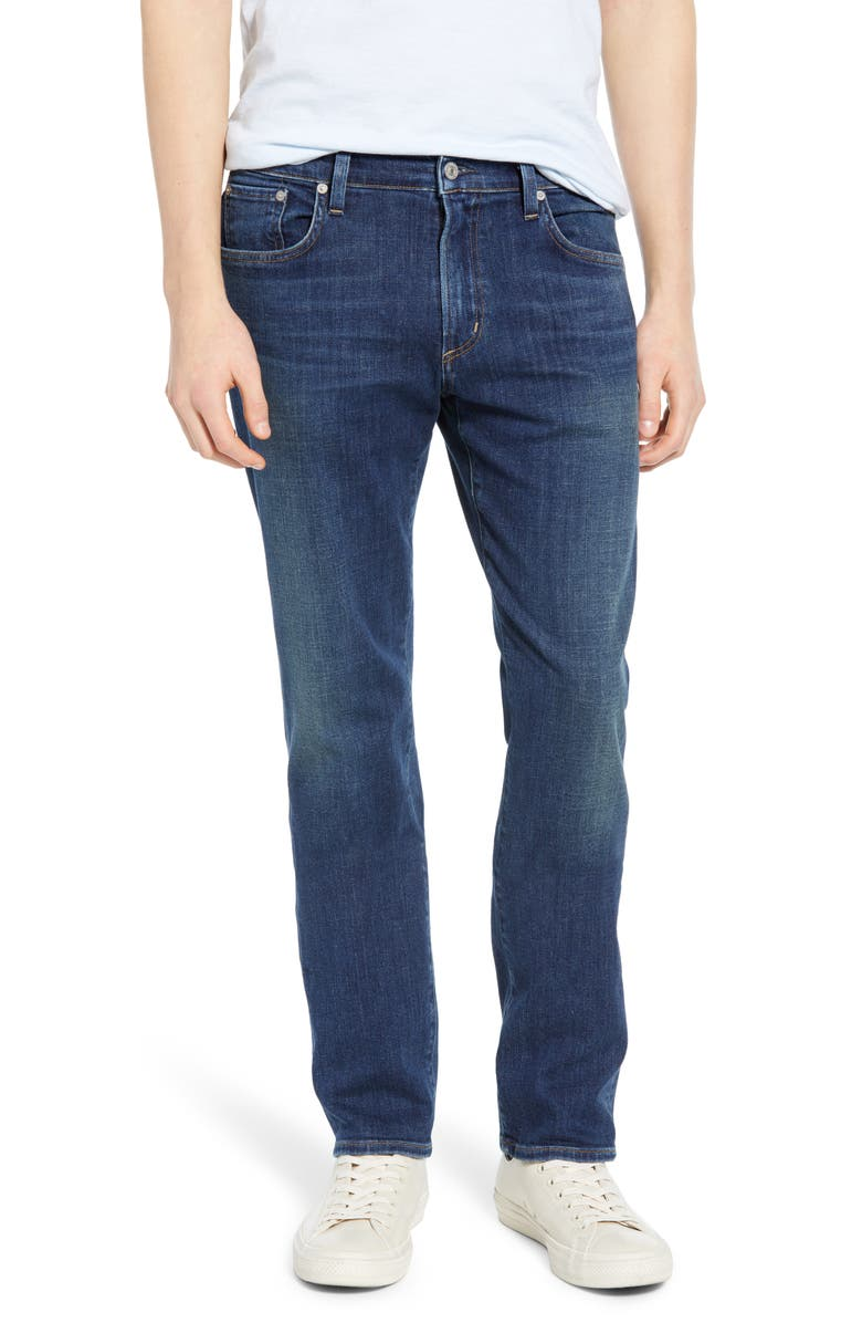 CITIZENS OF HUMANITY PERFORM - Gage Classic Straight Leg Jeans, Main, color, BARENT