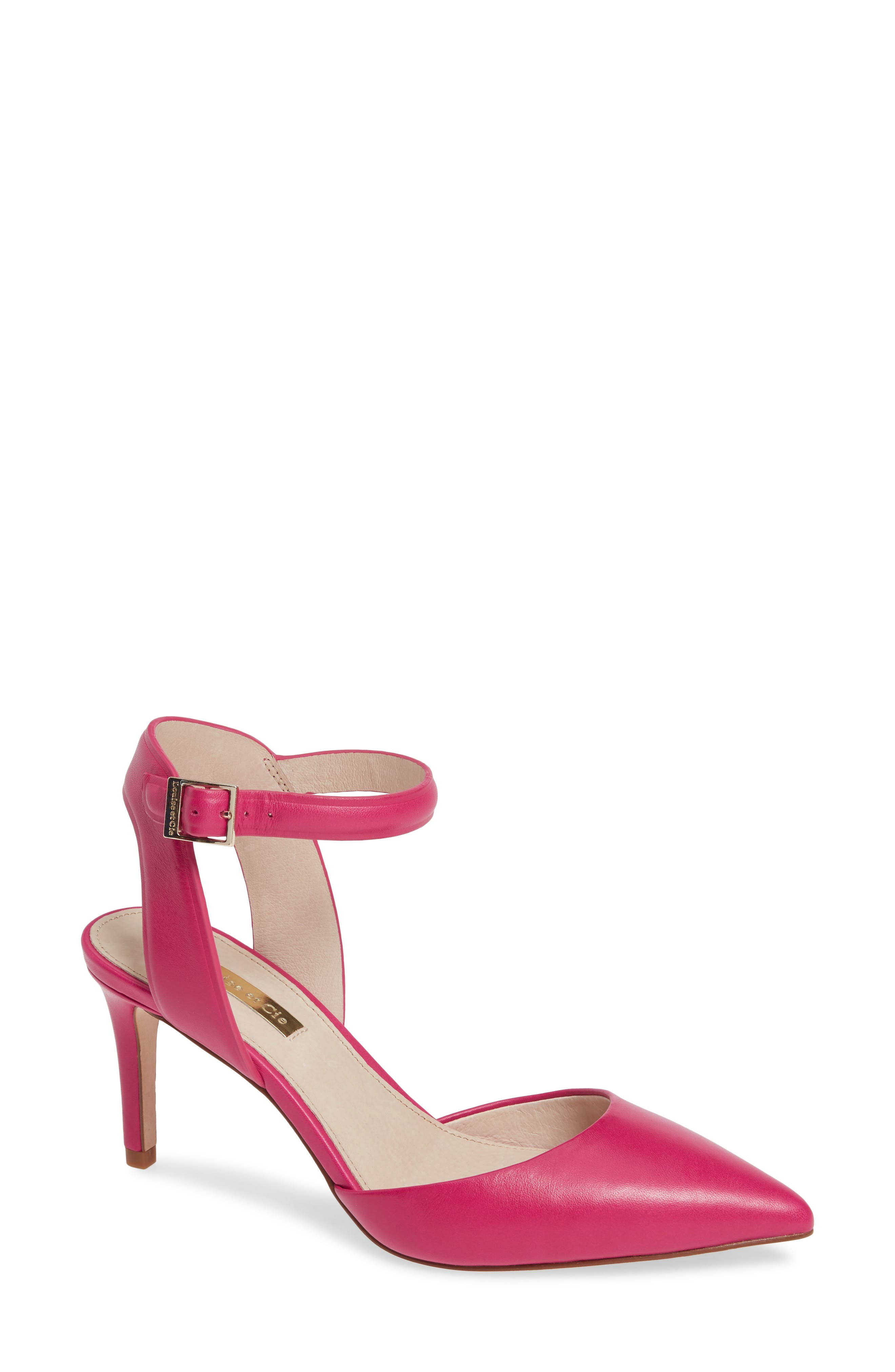 Louise Et Cie Kota Ankle Strap Pump, Pink