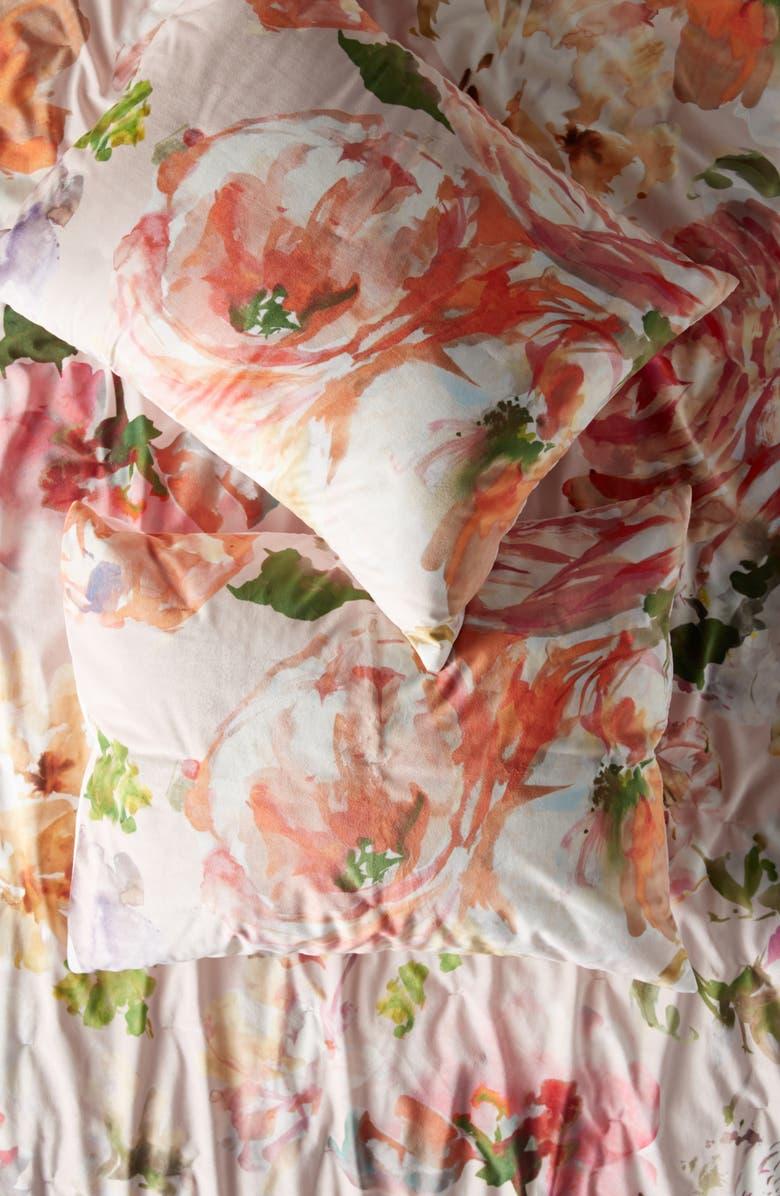 ANTHROPOLOGIE HOME Helen Dealtry Velvet Sham, Main, color, ASSORTED
