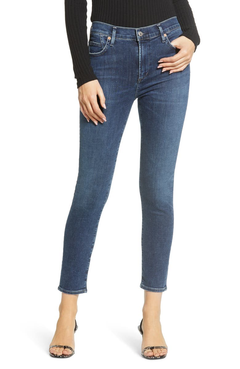 CITIZENS OF HUMANITY Rocket Crop Skinny Jeans, Main, color, ALTO