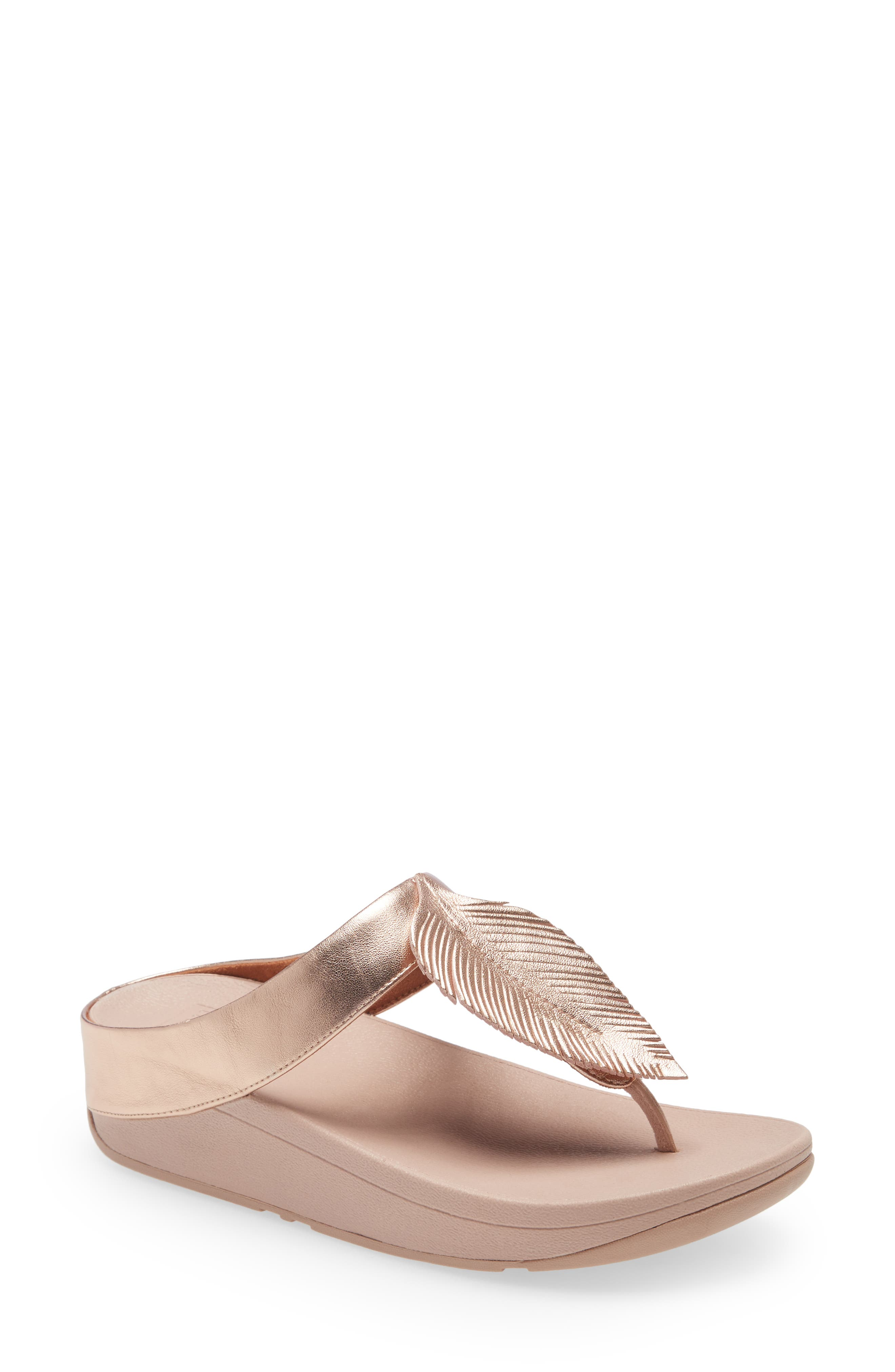 Fino Feather Flip Flop