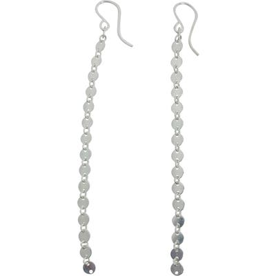 Nashelle Disco Chain Drop Earrings