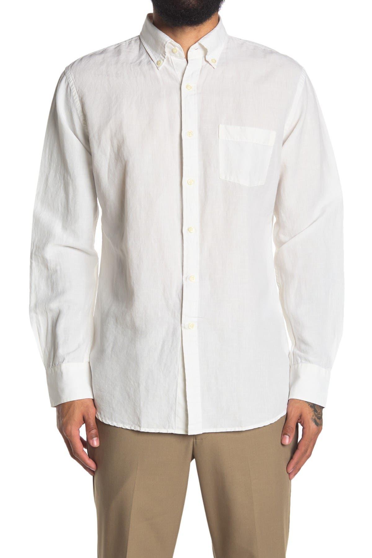 Image of Peter Millar Seaside Washed Dress Shirt