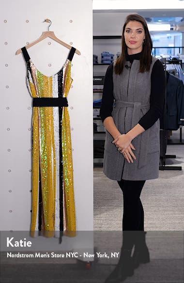 Puli Sequin Stripe Jumpsuit, sales video thumbnail