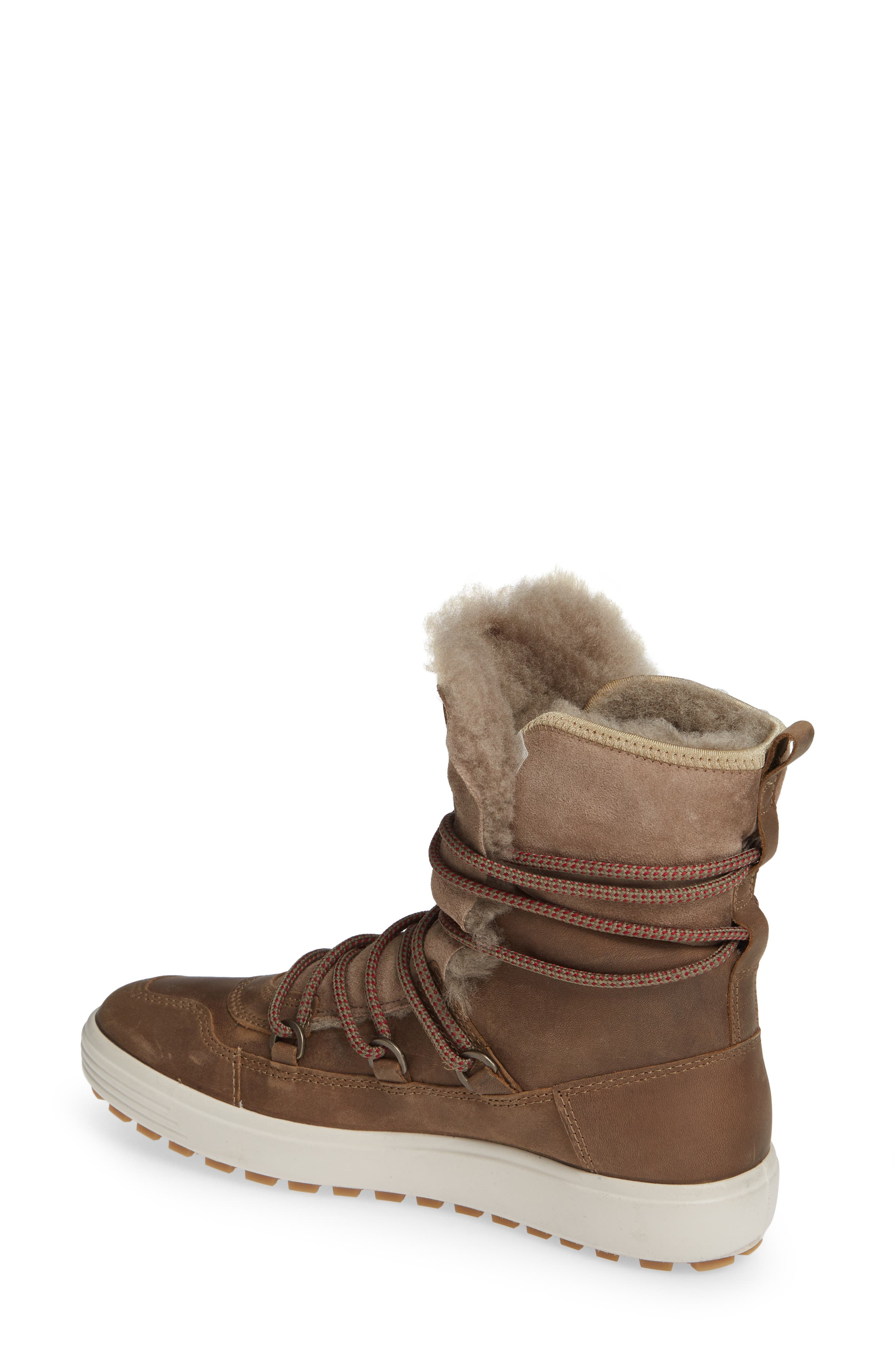 ,                             Soft 7 Tred Waterproof Genuine Shearling Lined Bootie,                             Alternate thumbnail 2, color,                             247