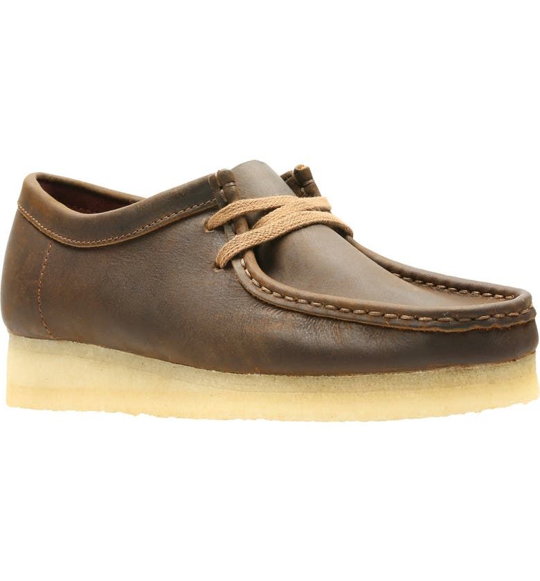 CLARKS<SUP>®</SUP> ORIGINALS Wallabee Chukka, Main, color, BEESWAX LEATHER