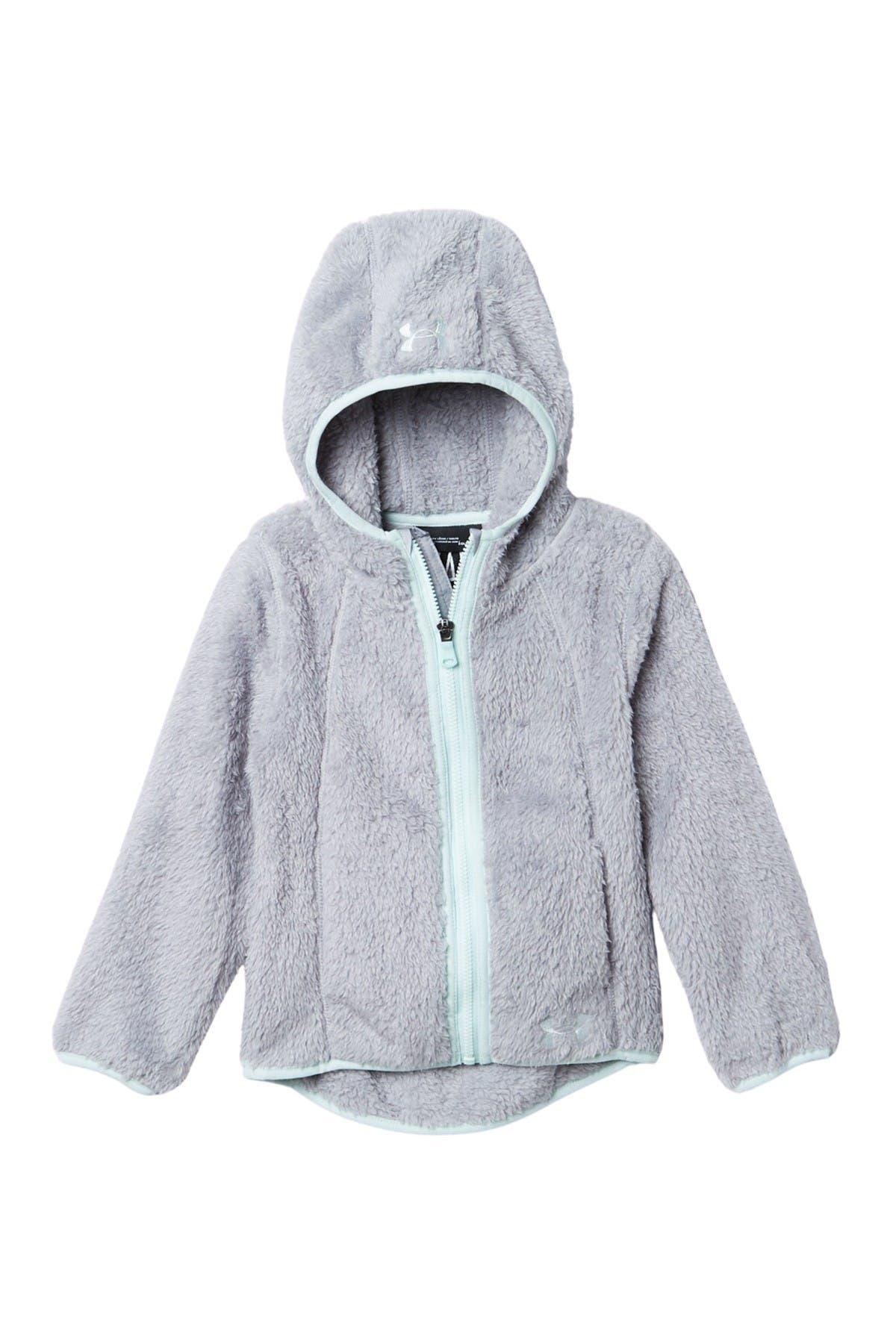 Image of Under Armour Cozy Faux Fur Fleece Zip Hoodie
