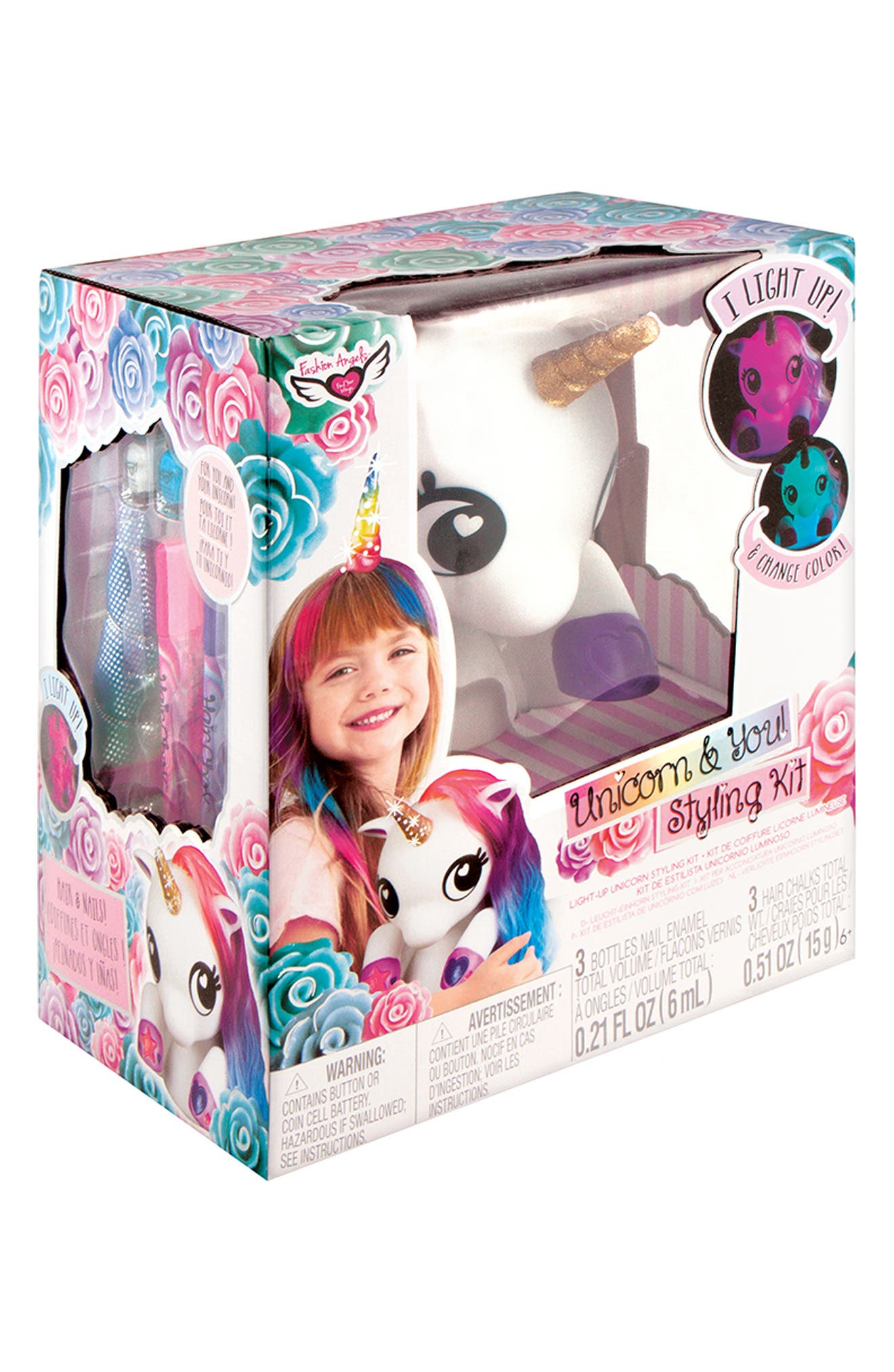 ,                             Unicorn & You Styling Kit,                             Alternate thumbnail 3, color,                             960