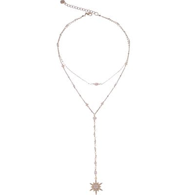 Nakamol Design Freshwater Pearl Layered Y Necklace