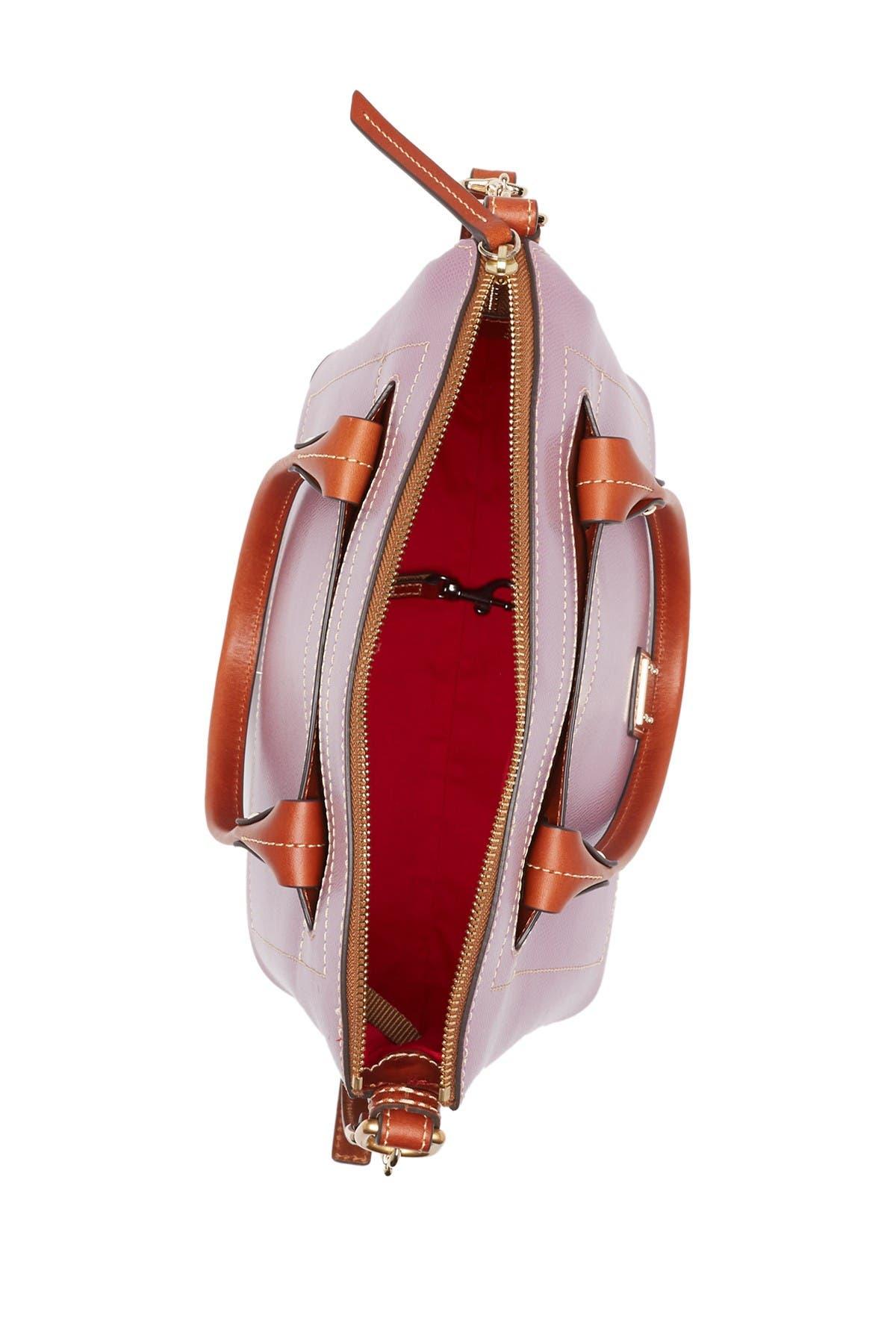 Image of Dooney & Bourke Domed Leather Satchel