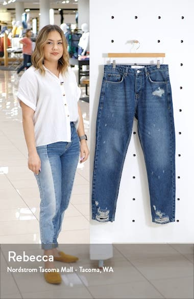 Chi Damage Tapered Skinny Jeans, sales video thumbnail