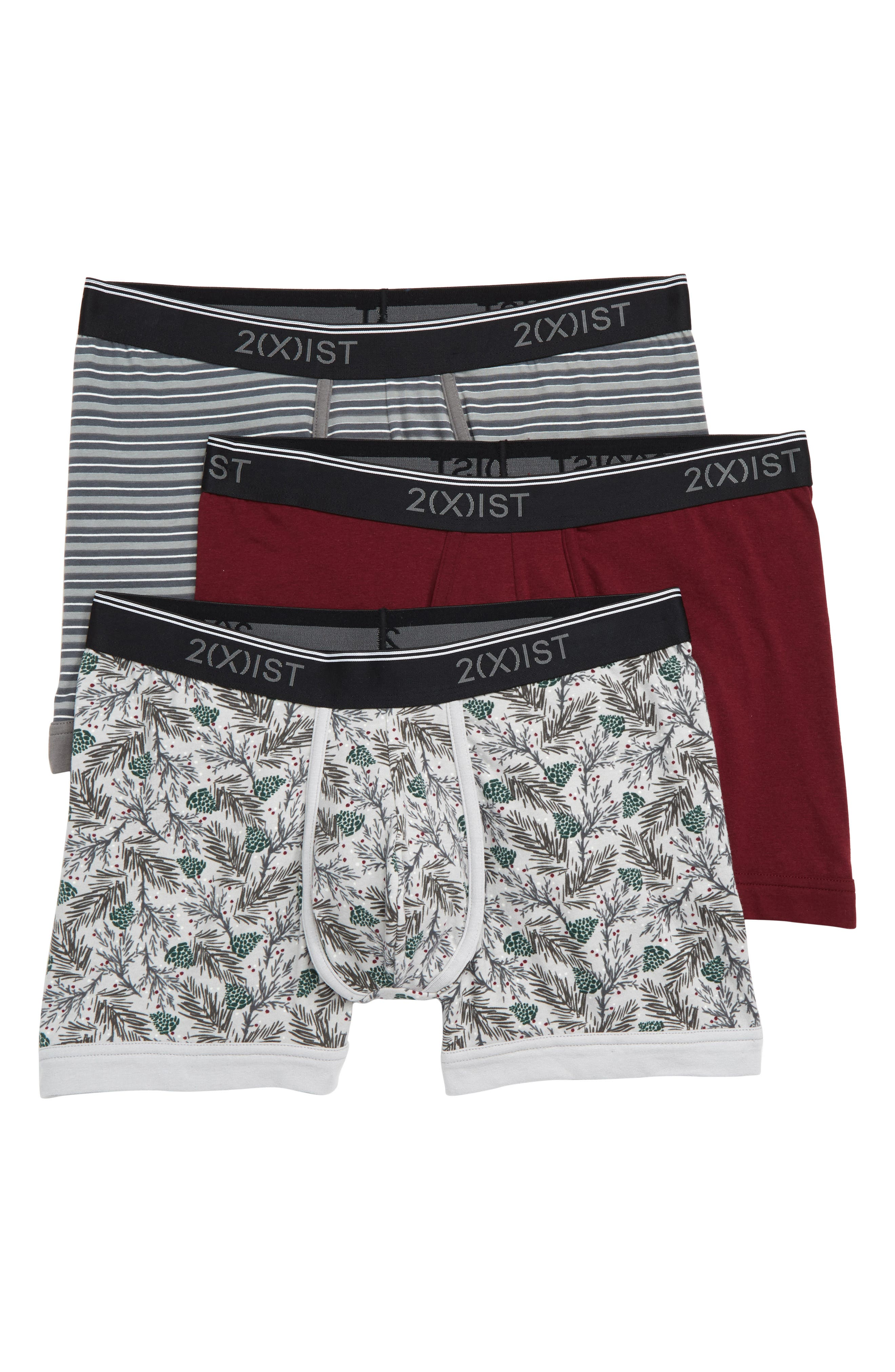 Image of 2(X)IST Stretch Boxer Briefs - Pack of 3