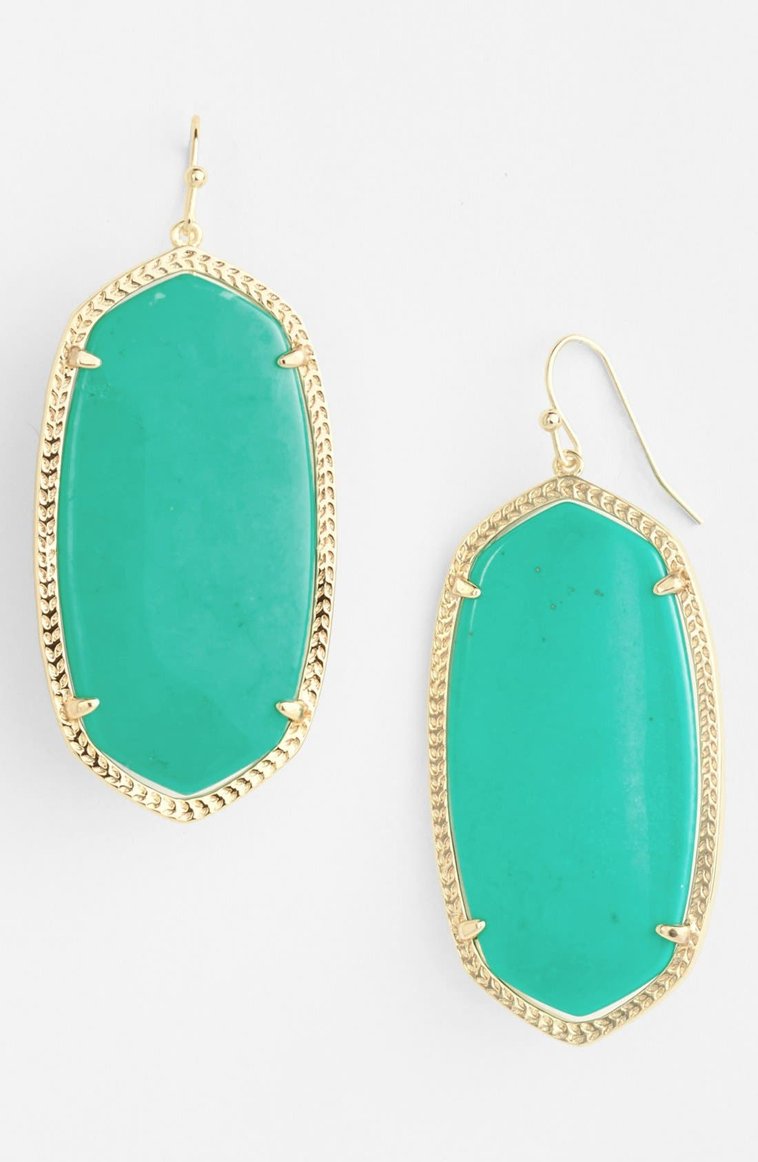 ,                             'Danielle' Oval Statement Earrings,                             Main thumbnail 38, color,                             445