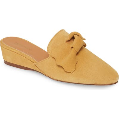 Klub Nico Delmy Bow Loafer Mule, Yellow