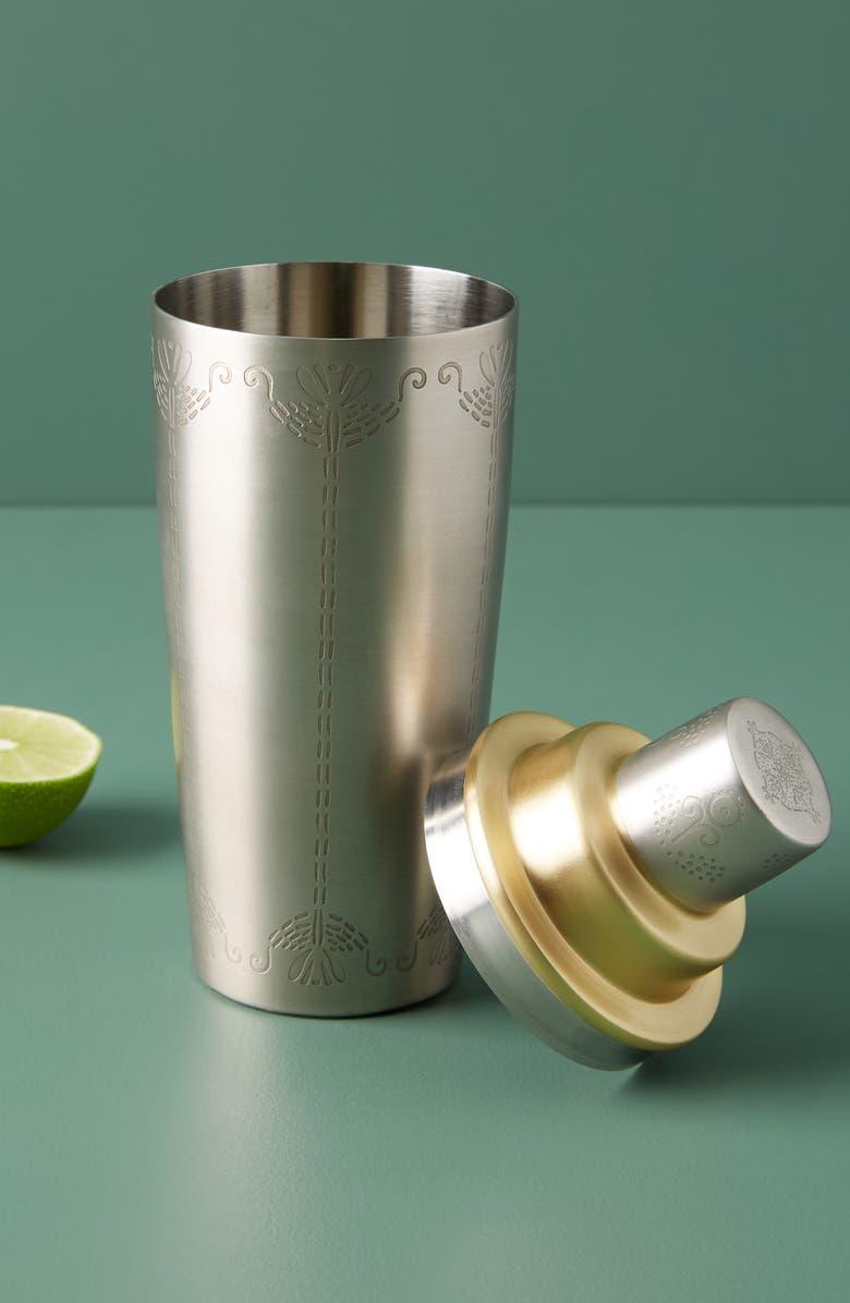 ANTHROPOLOGIE Luna Cocktail Shaker, Main, color, 040