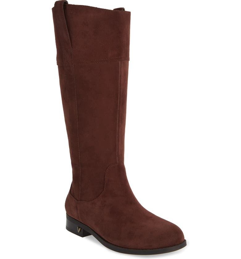 VIONIC Downing Boot, Main, color, CHOCOLATE SUEDE