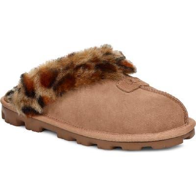 Ugg Genuine Shearling Slipper, Brown